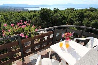 Ferienwohnung mit Balkon und Grillmöglichkeit