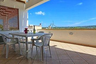 Ferienwohnung mit Waschmaschine und Terrasse