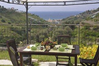 Ferienhaus s pogledom na more