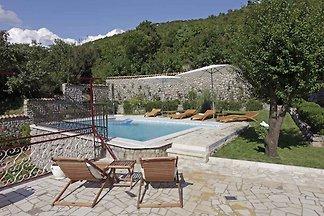 Ferienhaus mit grosser Terrasse, Grill und