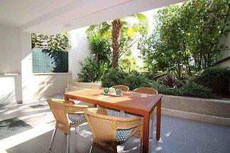 Ferienwohnung mit Garten in einem ruhigen Tei