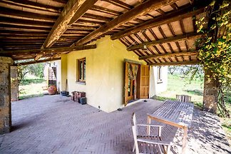 Ferienhaus mit Terrasse und Garten