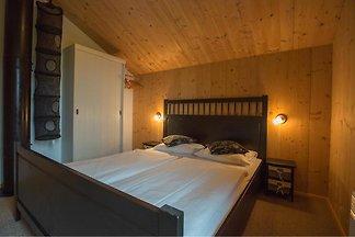 Ferienhaus mit Blick auf die Salzburger