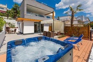 Ferienwohnung mit Whirlpool