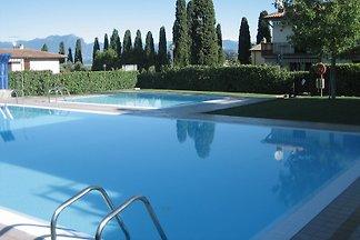 Ferienwohnung con piscina esterna