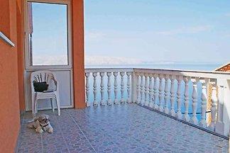 Ferienwohnung s balkonom i pogledom na more