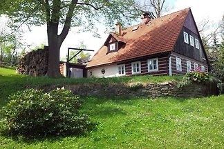 Ferienhaus mit Kamin und Terrasse