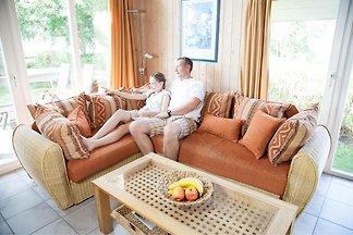 Ferienhaus mit SAT-TV und Whirlpool