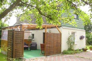 Studio mit überdachter Terrasse und