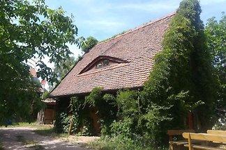 Ferienhaus Lehmhaus mit Naturbadeteich