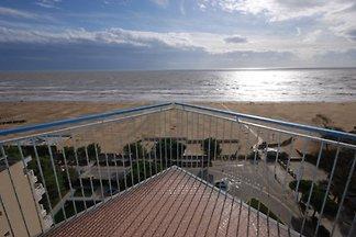 Ferienwohnung direkt am Meer mit Meerblick