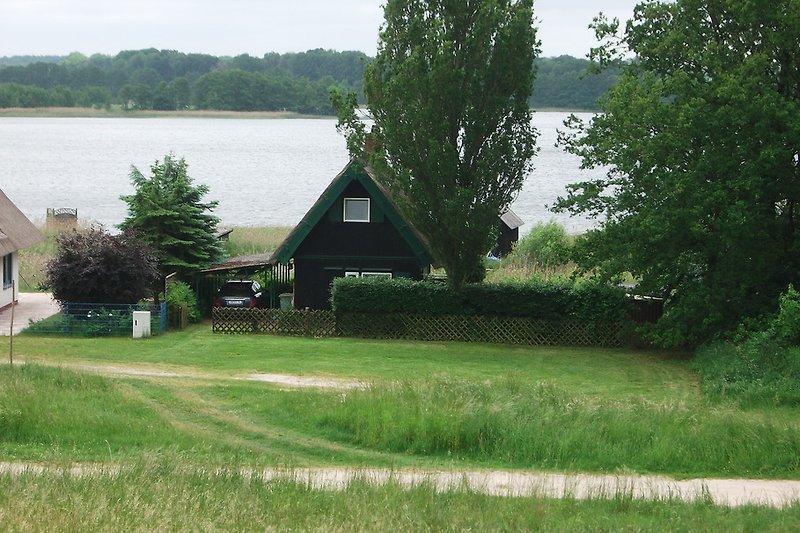 Ferienhaus mit großer Wiese
