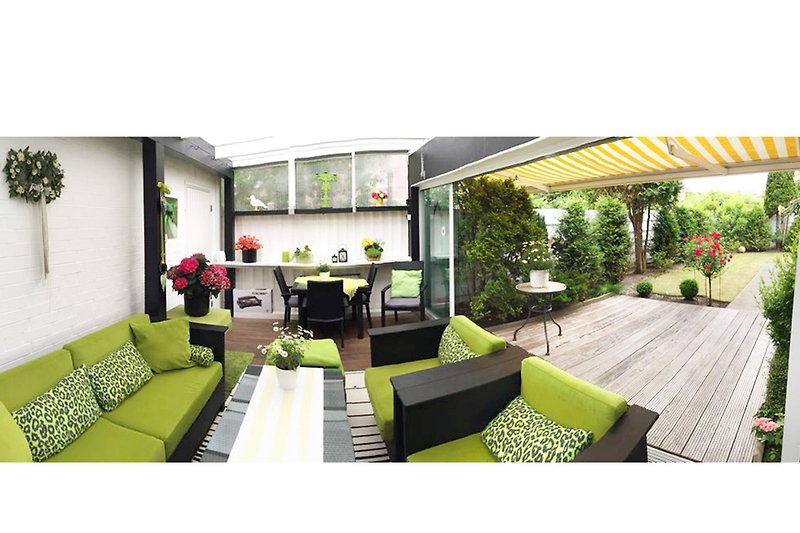 Terrasse & Garten Fewo Carolina