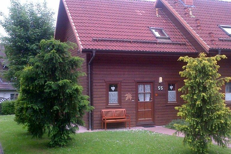 Ferienhaus 55 Im Ferienpark Blauvogel Hasselfelde