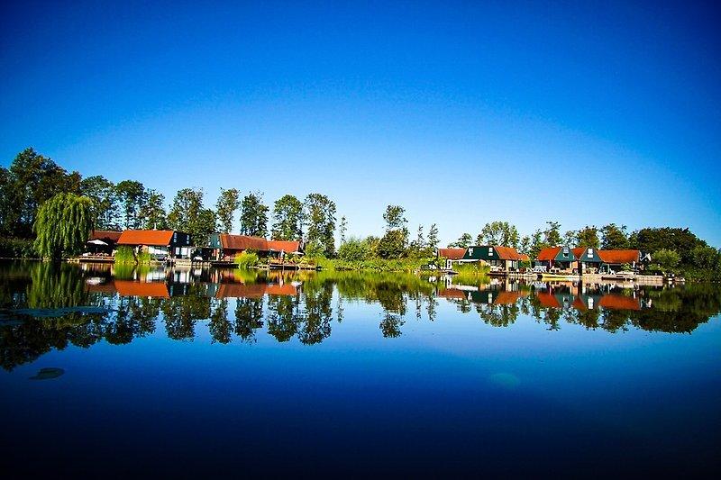 Ferienhaus de Rijd 6 Nieuwe Niedorp Sicht zum See