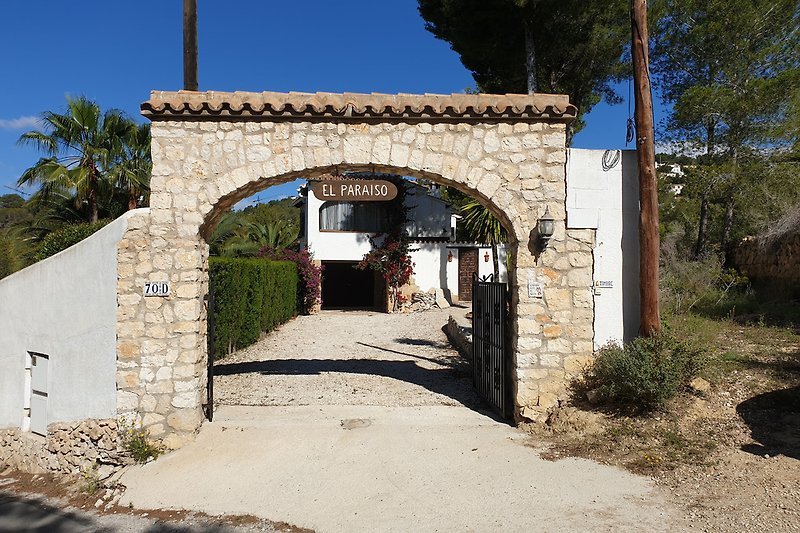 Eingang zur Casa El Paraiso