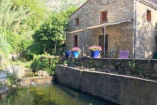 Romantische Mühle auf Korsika