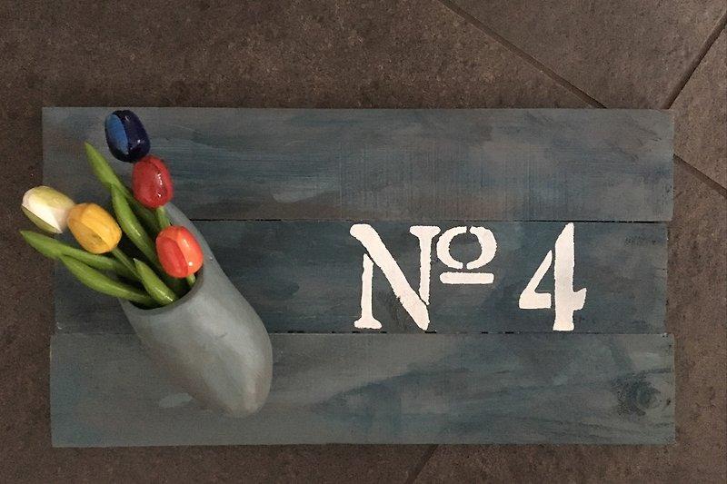 Huisnummer echt Hollands!