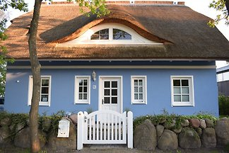 Das blaue Haus am Meer