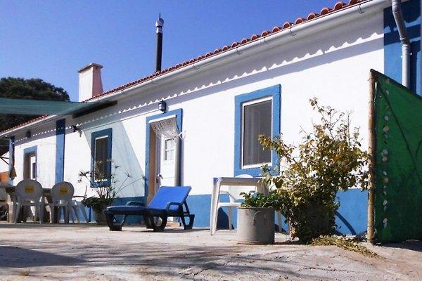 Landhaus mit privatem Schatten und Grillplatz vor dem Haus