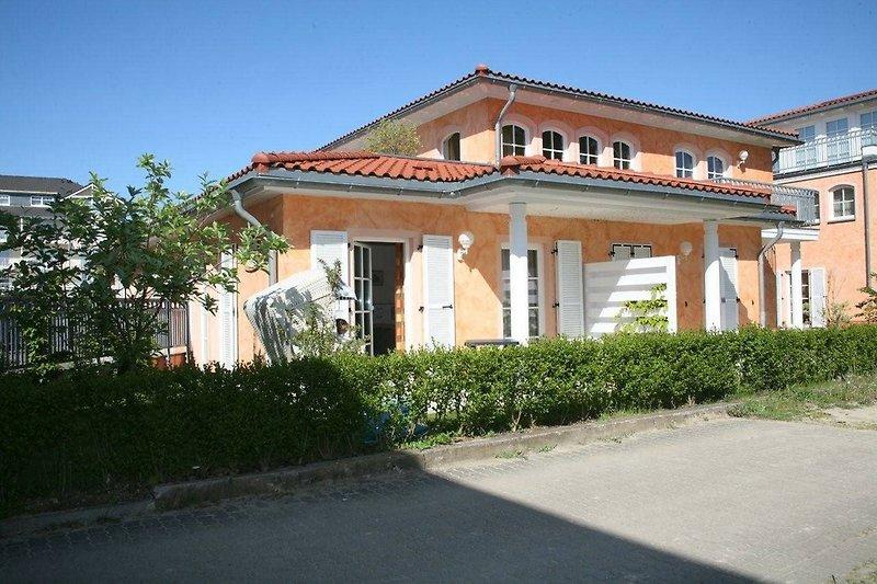 Haus CASANOVA Wohnung.4 Südseite Haus in zweiter Reihe