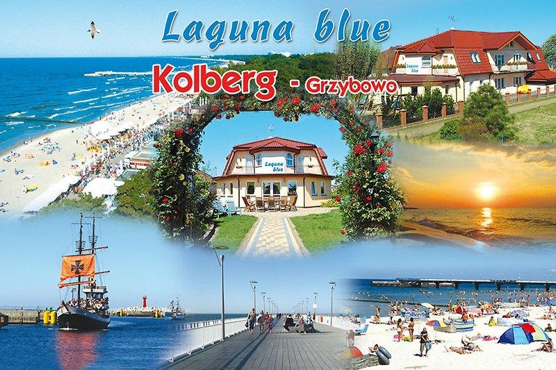 Motto Laguna-blue: Gut schlafen - lecker frühstücken - schön wohnen