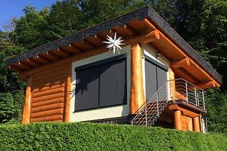 Kanadisches Blockhaus am Plauer See