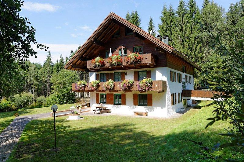 Waldhaus Sonnenberg  mit Garten
