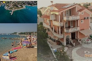 Appartementen Malinska -50 m van de zee