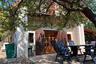 Presshaus mit Blick in Balatonfüred