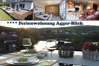 Seeblick Ferienwohnung 'Aggerblick'