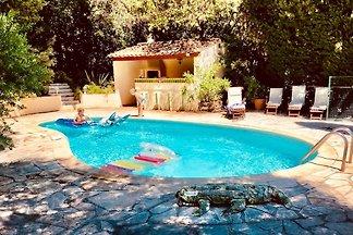 Meerblickvilla eigener Pool, Wifi