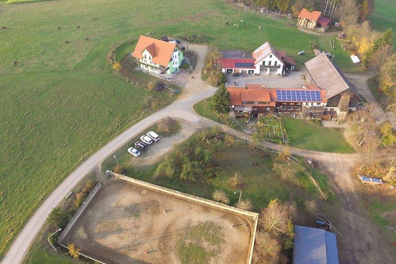 Bayerhof von oben