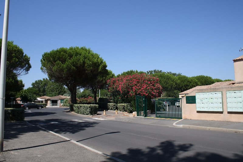 Eingang Les Ondines