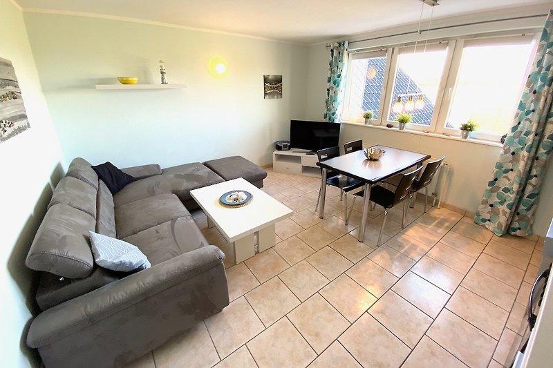 Dahme: Ferienwohnung Holiday 2 Wohnbereich