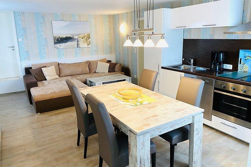 Dahme: Ferienwohnung Holiday 5: Wohnbereich