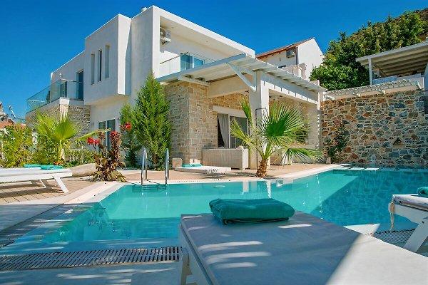 Villa Ella Luxus Haus am Dorfrand - Ferienhaus in Pitsidia ...