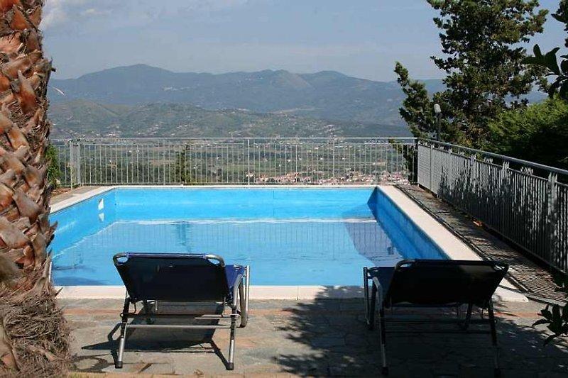 Pool Cilento Ferienhaus