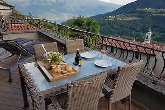 Terrace apartment with panoramic view
