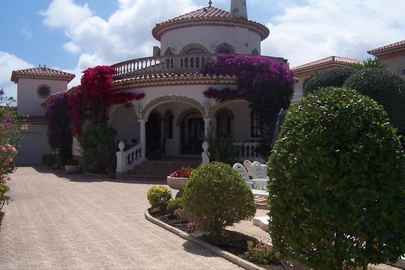 Entance to the Villa