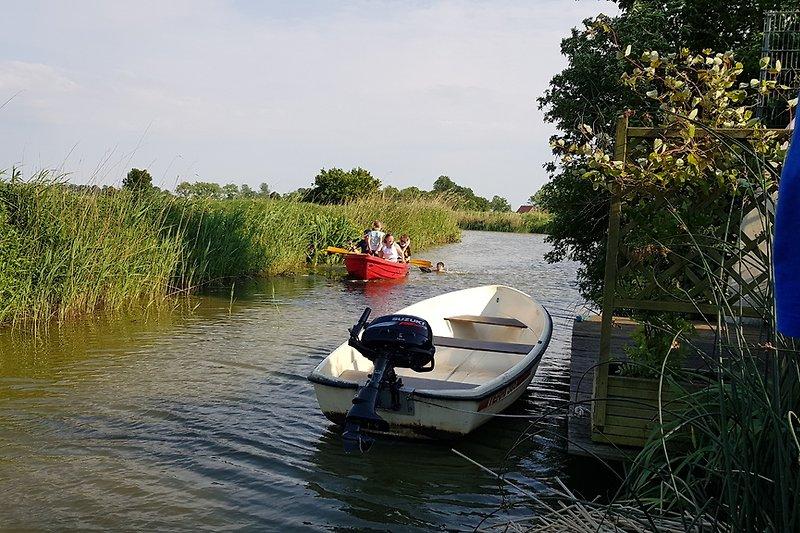 Das Loquarder-Tief mit unseren beiden Leihbooten