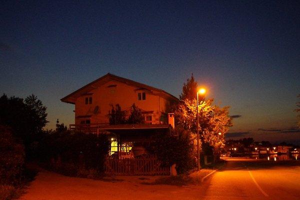 Haus nachts