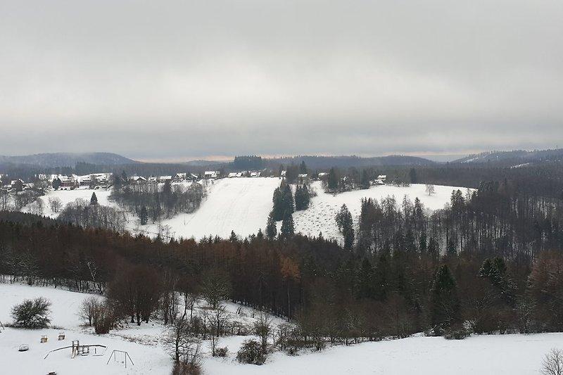 Hexenblick im Winter