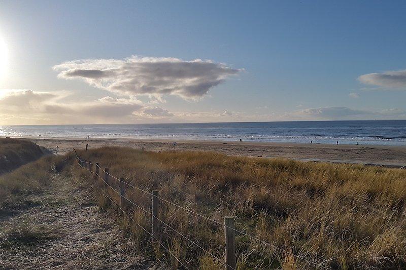 Und das ist der Strand, den Sie von uns aus direkt mit dem Strandübergang gegenüber erreichen.