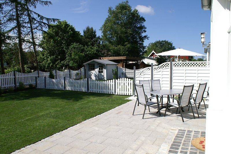 Garten, Terrasse