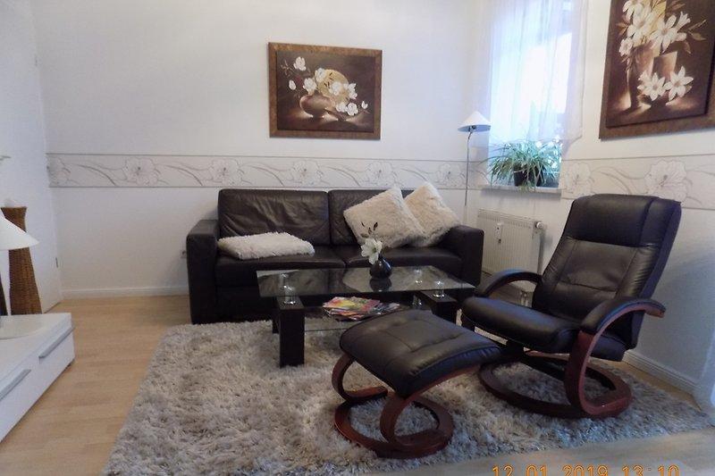 verstellbarer Relaxsessel+Couch mit Kuscheldecke