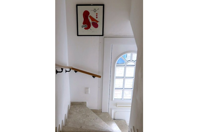 Eingang,Treppenaufgang