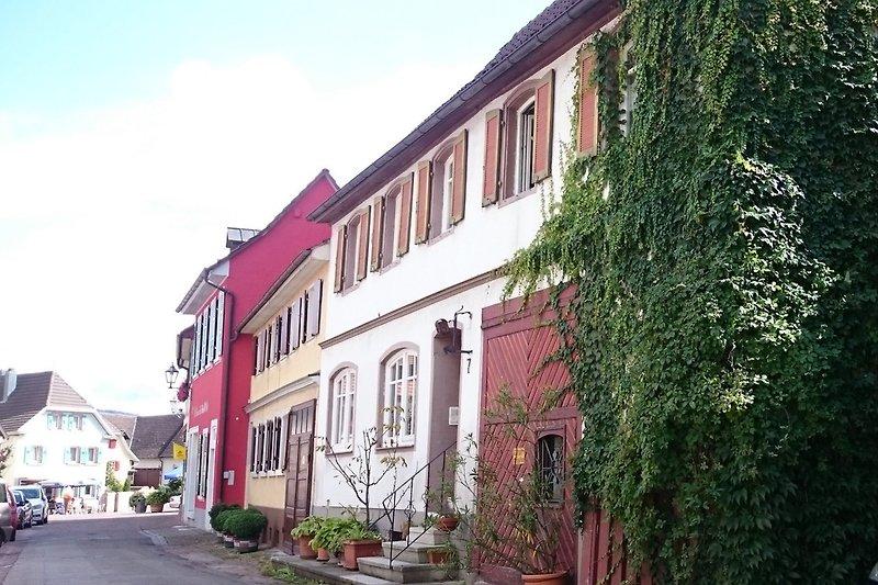 Mitten in der schönen Altstadt von Ettenheim