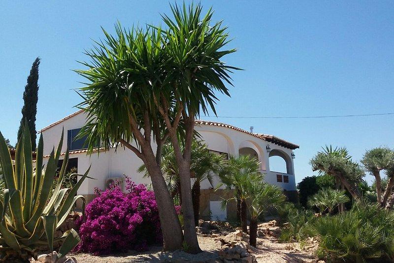 Freistehende Villa mit Panorama Blick