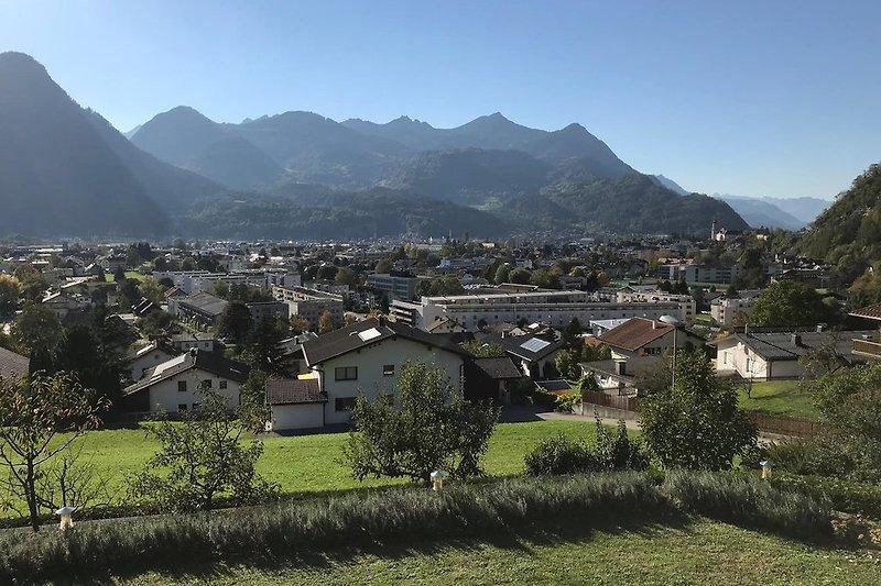 Panoramablick Sommer